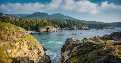 Pelican Point at Point Lobos (California)