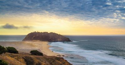 Point Sur Lightstation at Sunset (California)