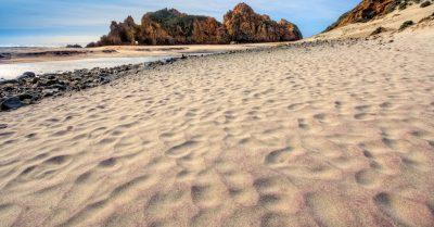 Purple Sands of Pfeiffer Beach (California)