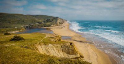 San Gregorio State Beach View (California)