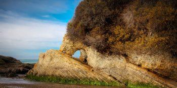Spooner's Cove Arch (California)