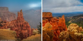 Bryce Canyon's Unpredictable Weather (Utah)