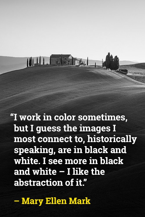 Mary Ellen Mark on the Abstract of Color
