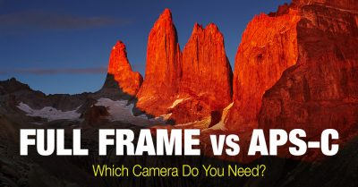Understanding the Difference between APS-C vs Full Frame
