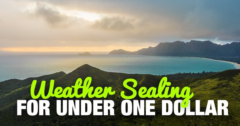 How to Weather Seal Your Camera For Under 1 Dollar