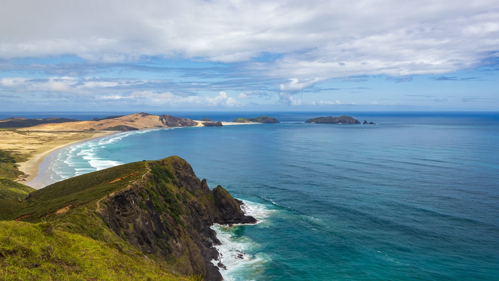 New Zealand North Island Road Trip: 1. Cape Reinga Bay