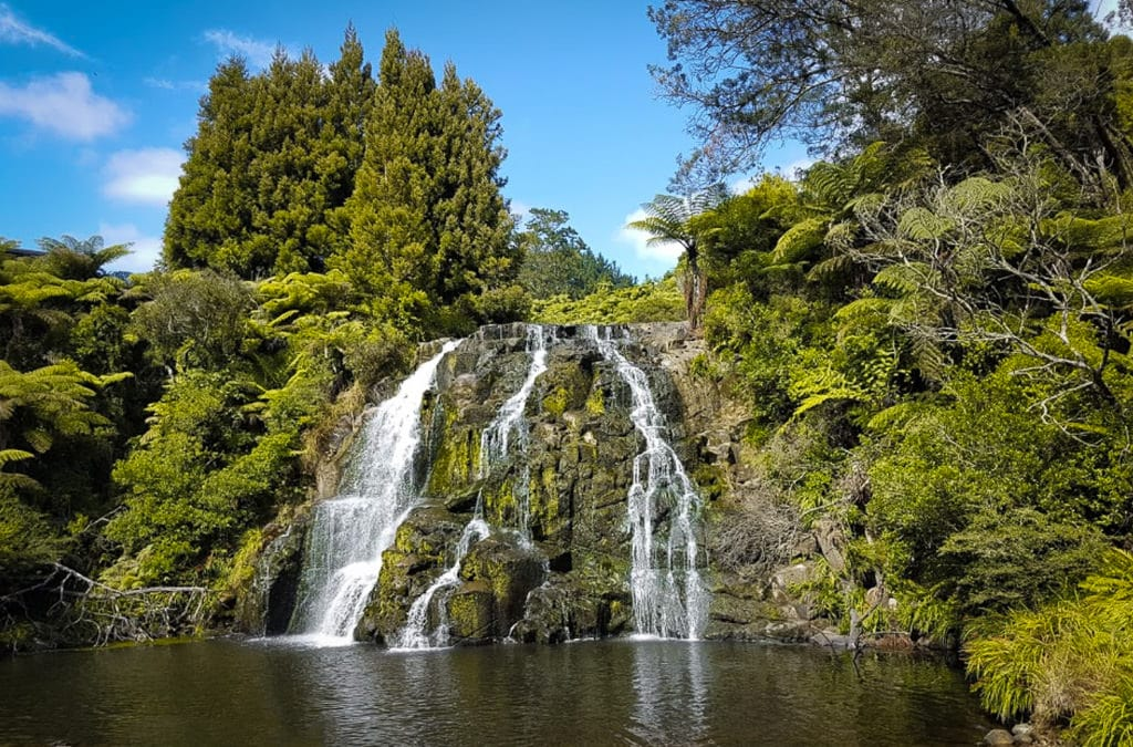 4. Owharoa Falls - New Zealand North Island