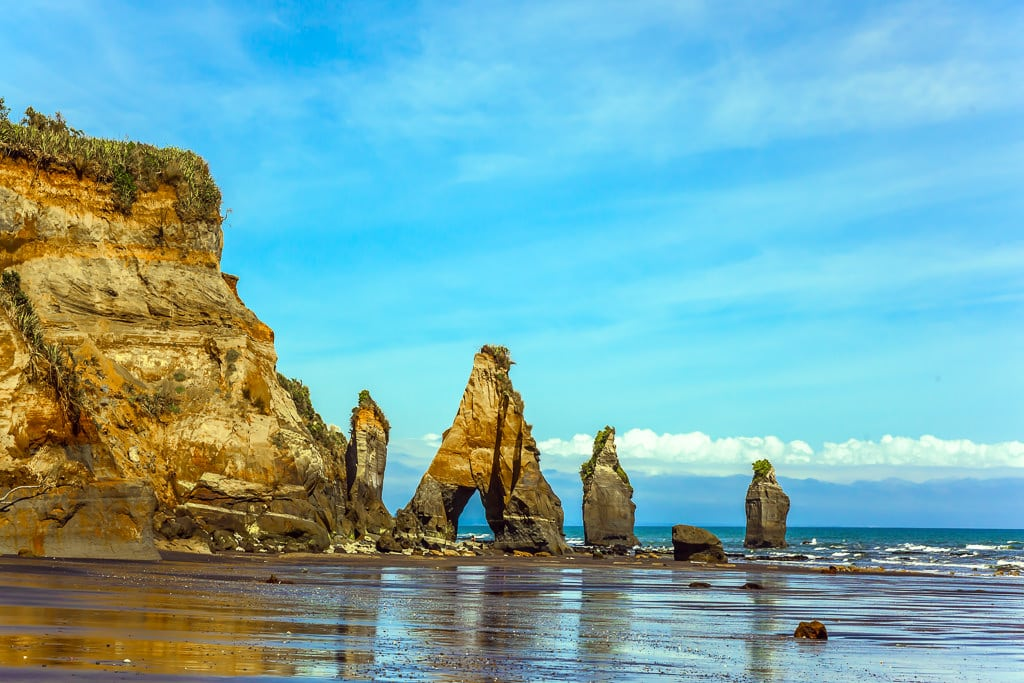 8. Three Sisters Rocks - New Zealand North Island