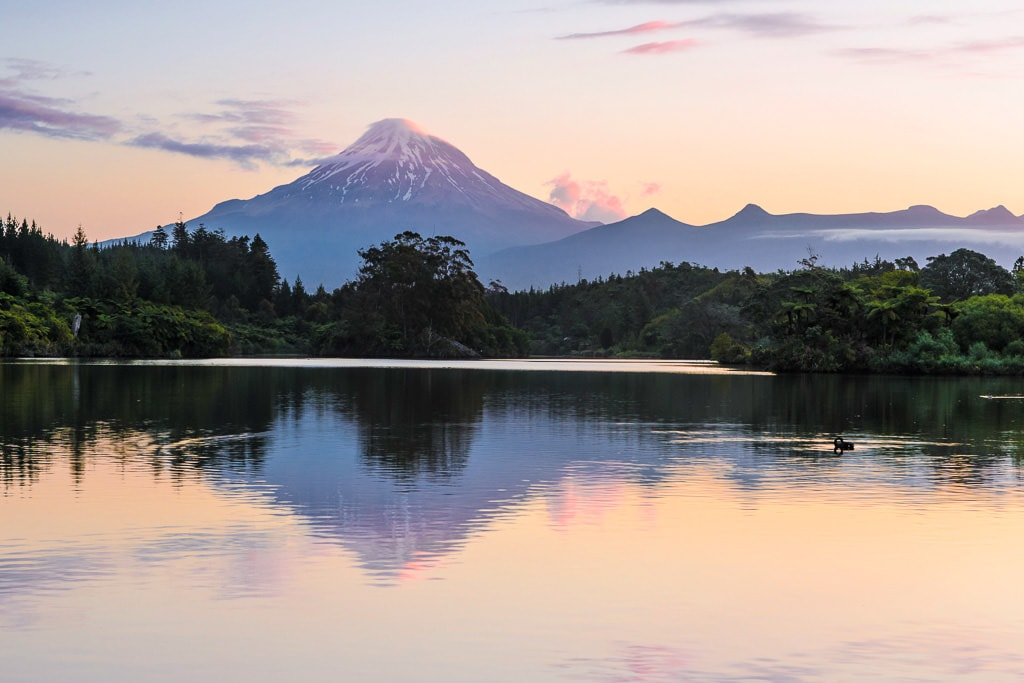 9. Mt. Taranaki - New Zealand North Island