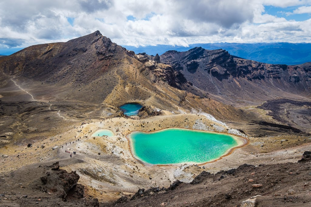 10. Tama Lakes - New Zealand North Island