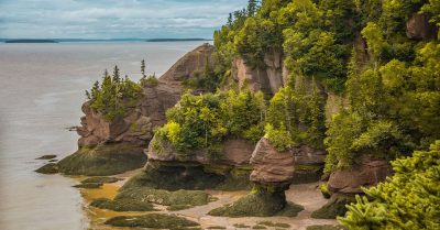 Bay of Fundy – Hopewell Rocks (New Brunswick)