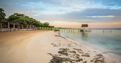 Before and After:  Cuba's Beach Sunrise Photo Processed for HDR in Photoshop