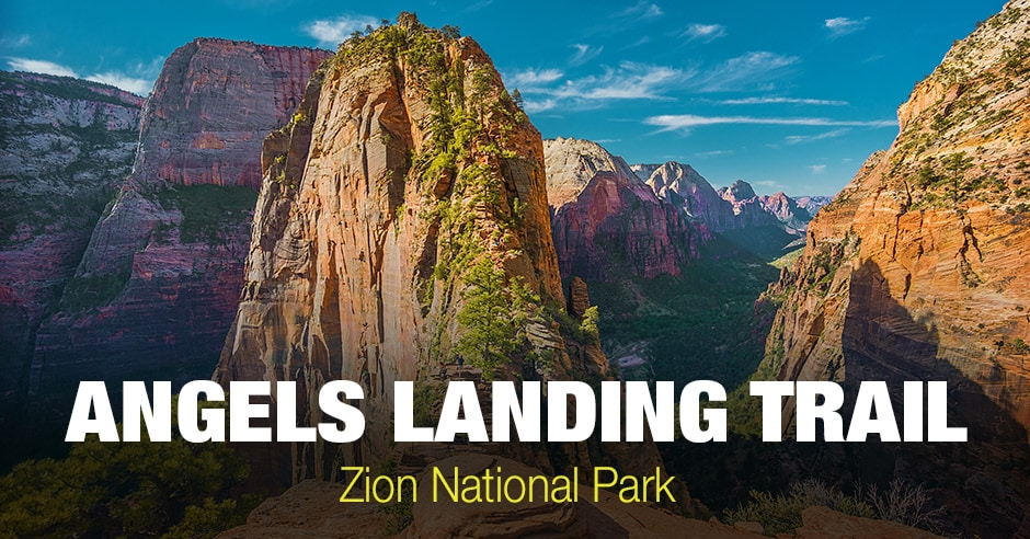 Angels Landing in Zion National Park (Utah)