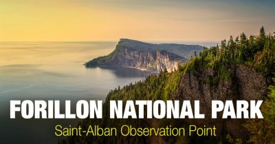 Forillon National Park – Aerial Photography from Saint-Alban Observation Point