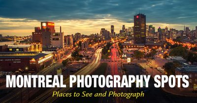 Montreal Photography Spots