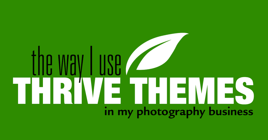 Thrive Themes Edit Blog