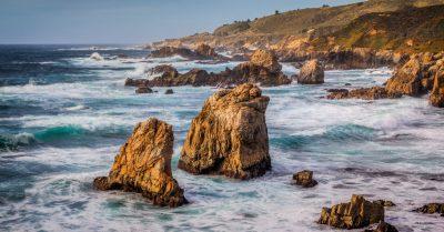 Garrapata State Park Shore (California)