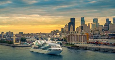 Seabourn Quest in Old Port of Montreal