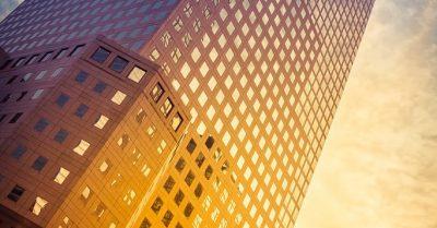 Ground Zero Sunset Reflections (New York)