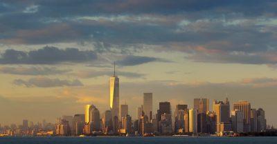 Manhattan Sunset Skyline (New York)