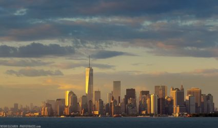 Manhattan Sunset Skyline (New York)