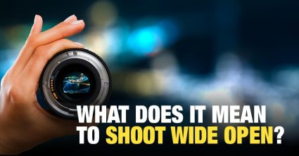 What Does It Mean to Shoot Wide Open?