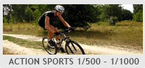 Shutter Speed 1/500s - 1/1000s- Action Sports