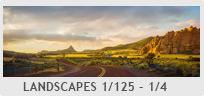 Shutter Speed - Landscapes 1/125 -1/4