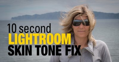 10 Second Lightroom Skin Tone Fix