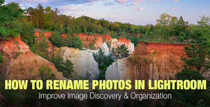 How to Rename Files in Lightroom for Better Image Discovery & Organization