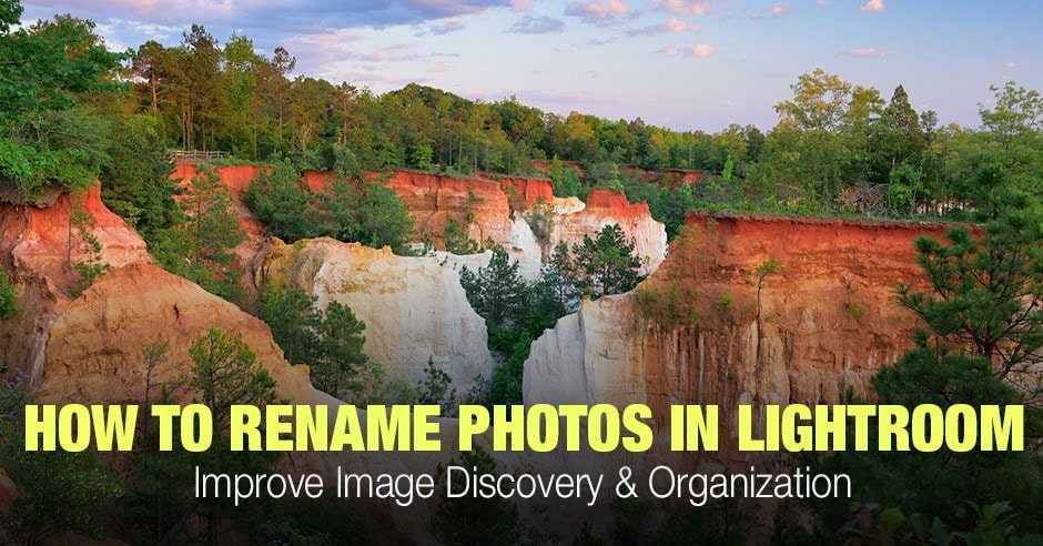 How to Rename Files in Lightroom